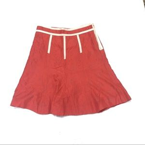 Marc Jacobs Red Silk Skirt Bubble Print 4